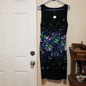 Lane Bryant Sleeveless Fully Lined Floral Dress